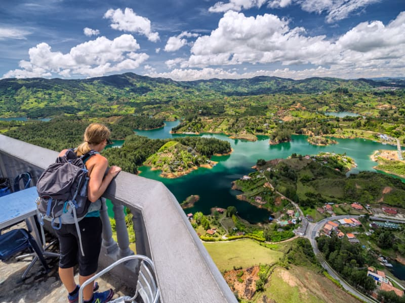 Tour a Guatape desde Medellin con Almuerzo
