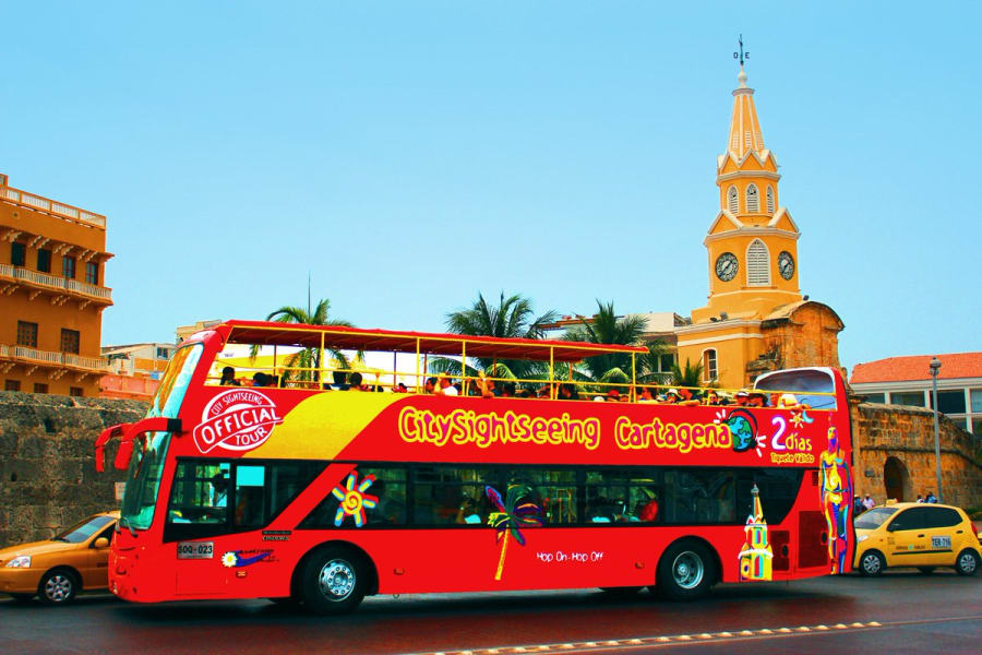 City Tour en Cartagena en el turibus