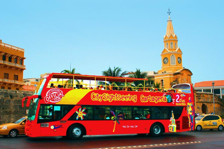 City Tour en Cartagena en el turibus
