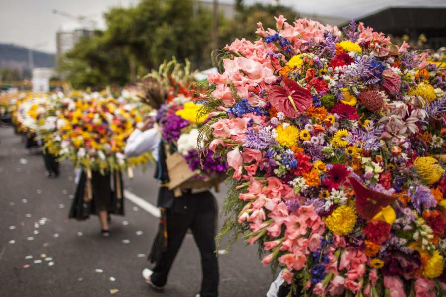 Fin de semana en la feria de las flores