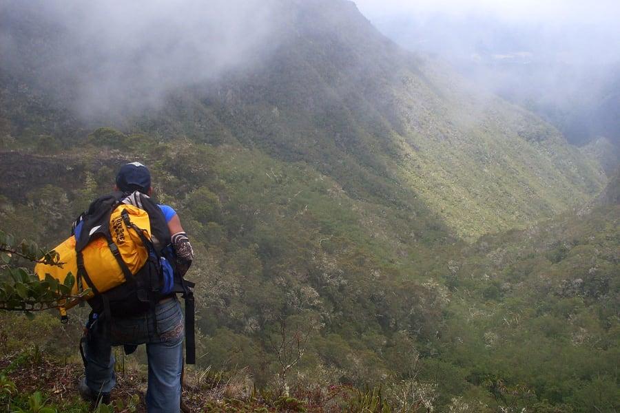 Acampar en el Volcán Barú