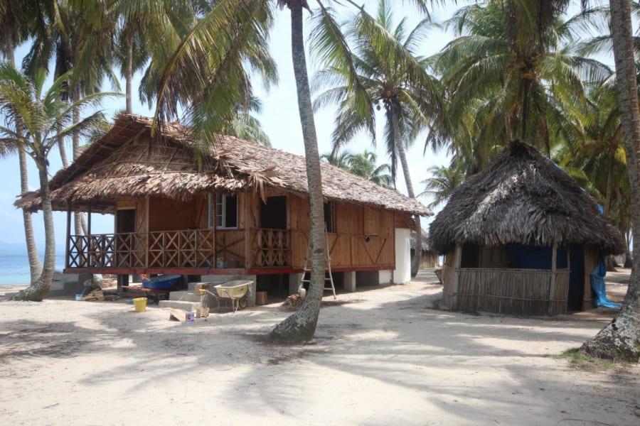 Cabañas Isla Aguja San Blas - Baño Privado 4 Dias 3 Noches