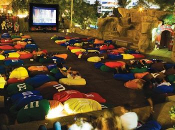 Movies under the stars at Wafi Mall