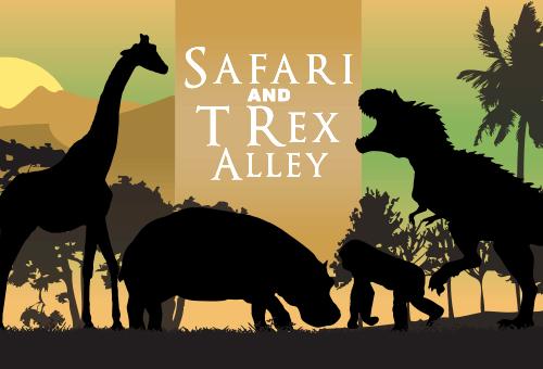 Safari and T Rex Alley Mini Golf