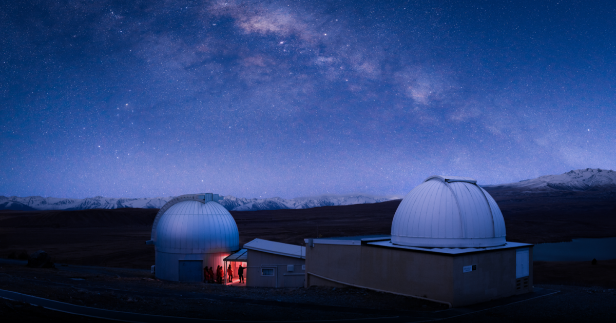 Aoraki Mackenzie International Dark Sky Reserve