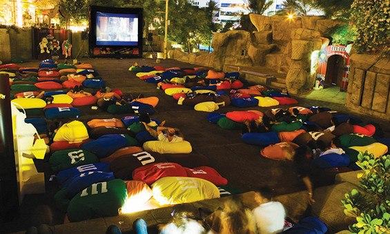 Movies under the stars at Wafi Mall