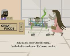 Billy Made A Mess