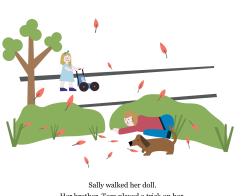 Sally and Tom