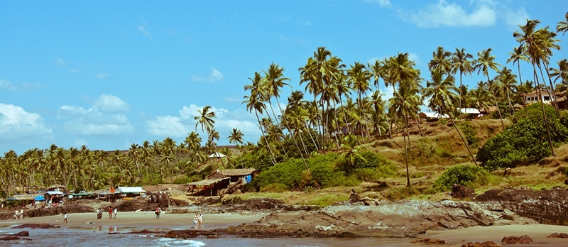 Top Beaches in North Goa - Ozran Beach