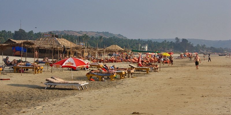 Top Beaches in North Goa - Mandrem Beach