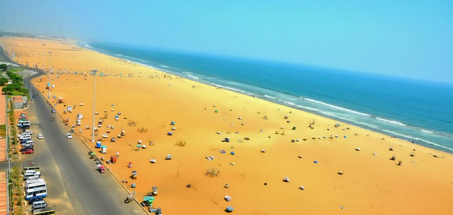 Marina Beach - Best Beach in Chennai