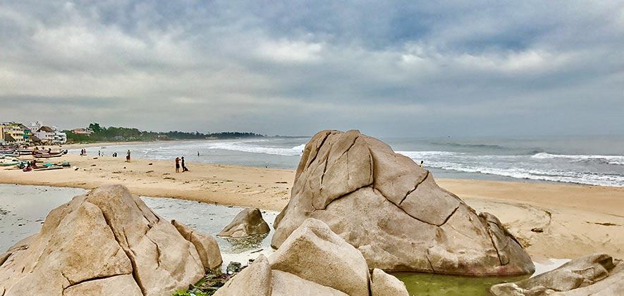 Mahabalipuram Beach - Best Beach around Chennai