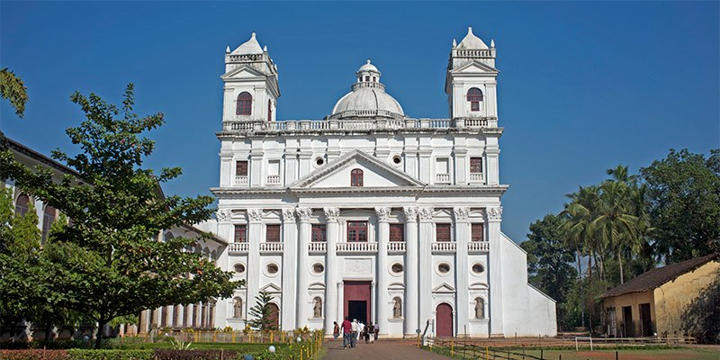 Church of St. Cajetan - Famous Churches in Goa