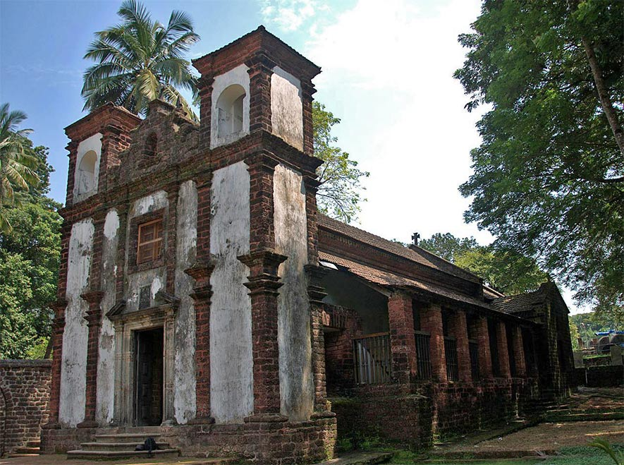 Chapel of St. Catherine - Old Churches in Goa