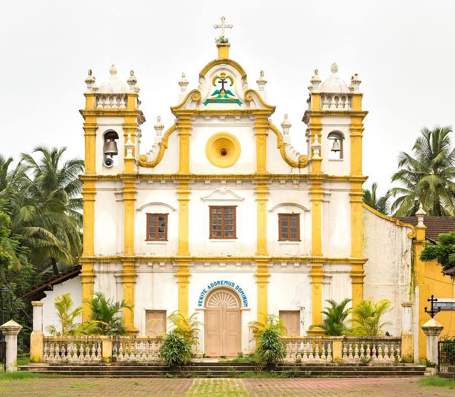 Santa Cruz - Best Churches in Goa