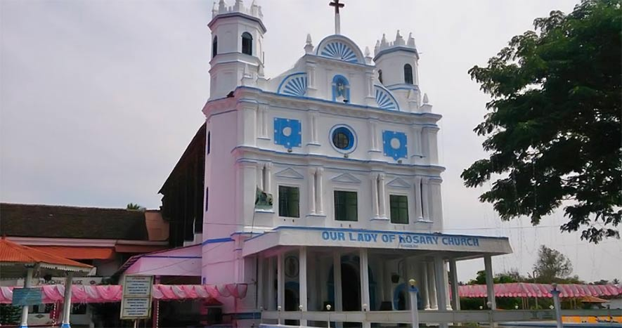 church of our lady of the rosary goa - Best Churches in Goa