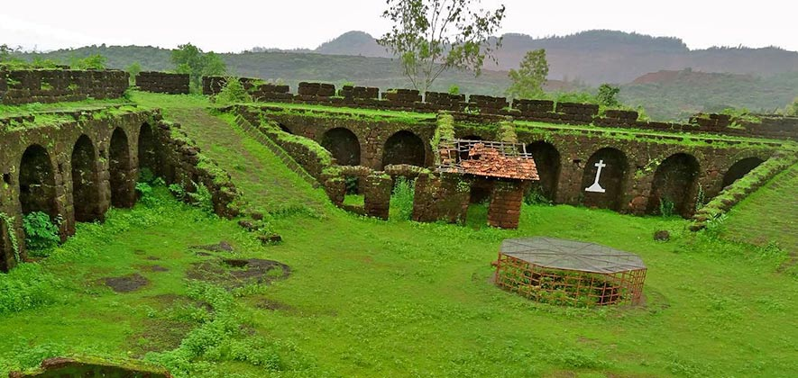 Corjuem Fort - Forts in Goa