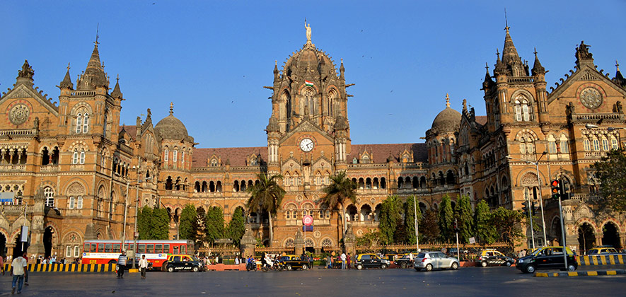 Chhatrapati Shivaji Terminus - Monuments of India