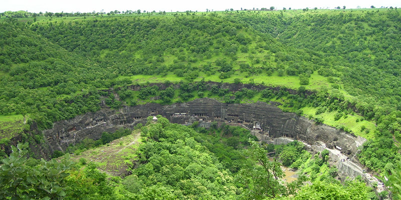 Ajanata and Ellora Caves - Historical Landmarks of India