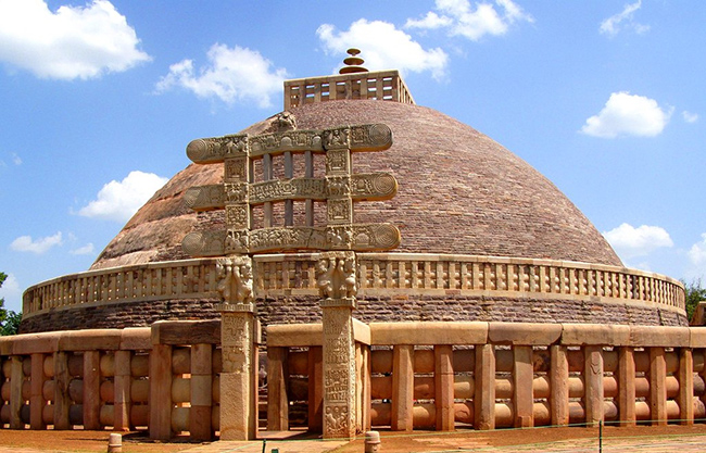 Sanchi Stupa - Historical Monuments of India