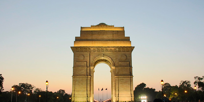 Kingsway, The India Gate - Monuments of India
