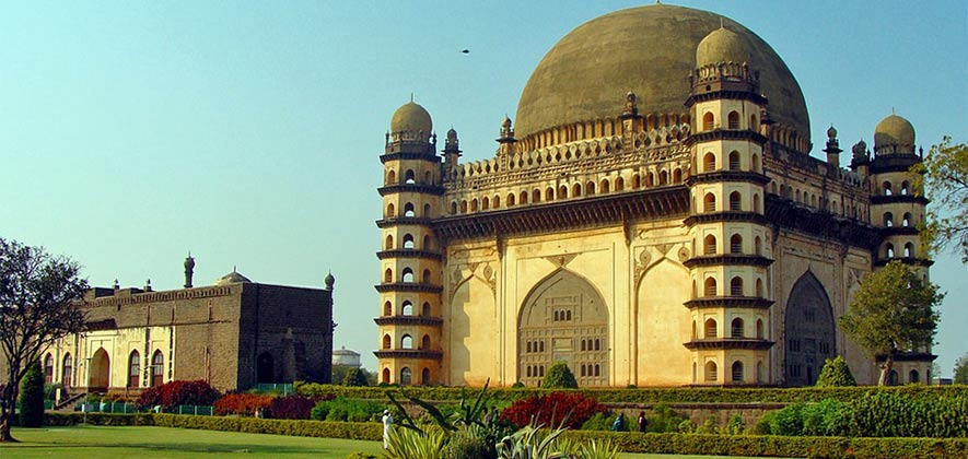 Gol Gumbaz - Famous Monument in India