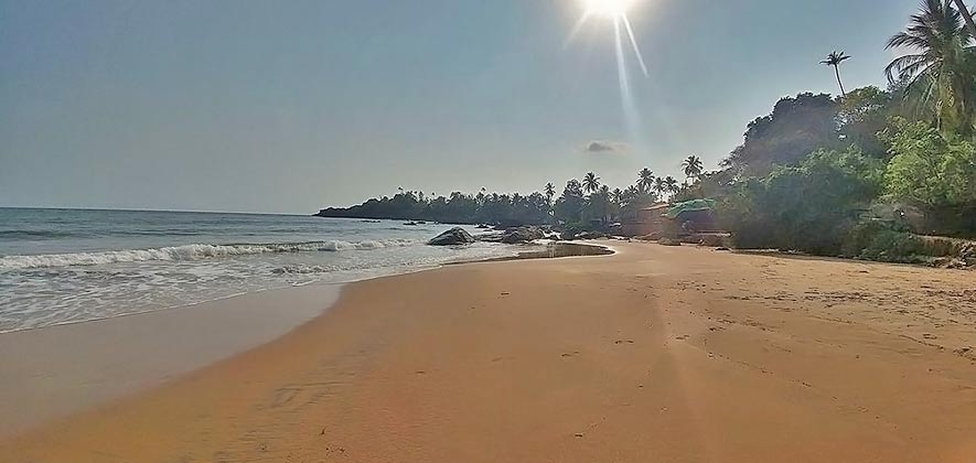 Patnem Beach - Best South Goa Beach