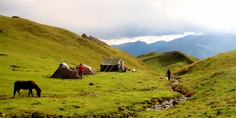 Bhrigu Lake Trek Itinerary