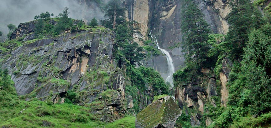 Jogini Waterfall Trek - Trekking in Manali