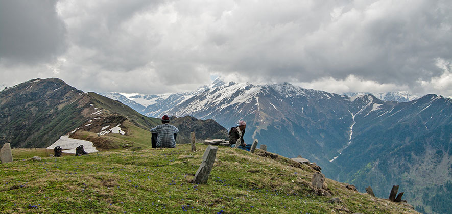 Chandrakhani Pass Trek - Trekking in Manali