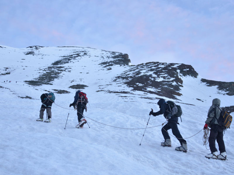 Stok Kangri Trek - Trekking in the Himalayas
