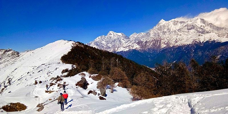 Brahmatal Trek in Himalayas