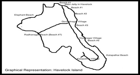 Havelock-island-map