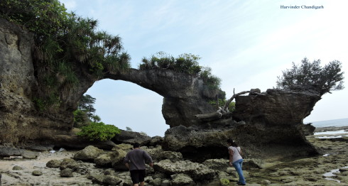 Neil-island-natural-bridge