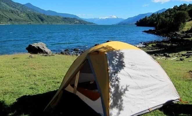 camping in mount harrriet
