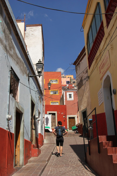 Travel blog image for Feb. 3, 2013 in Guanajuato City, Mexico