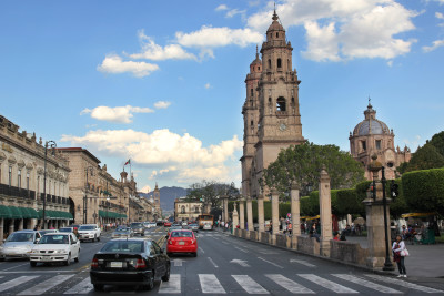 Travel blog image for Feb. 5, 2013 in Morelia, Mexico