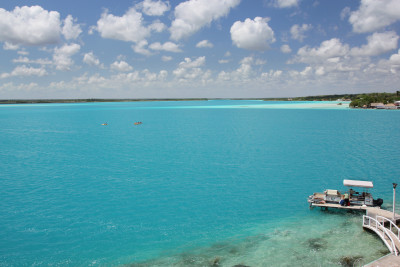 Travel blog image for April 22, 2013 in Bacalar, Mexico