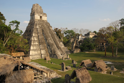 Travel blog image for April 29, 2013 in Tikal, Guatemala