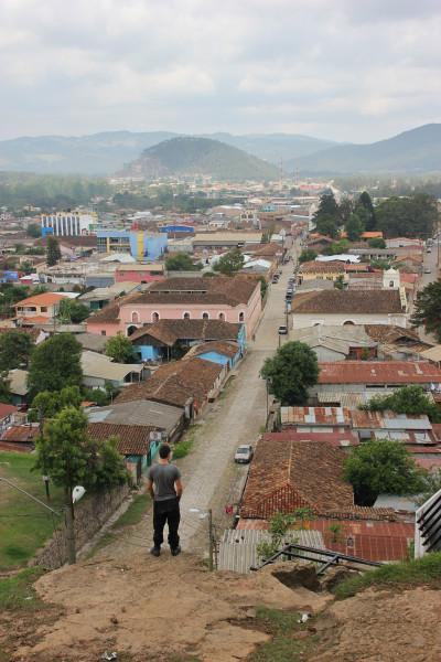 Travel blog image for May 21, 2013 in Gracias, Honduras