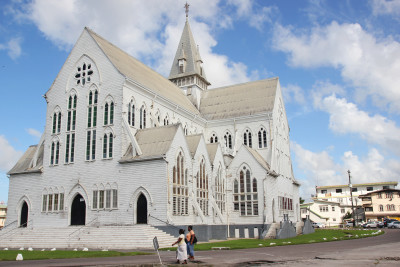 Travel blog image for Dec. 4, 2013 in Georgetown, Guyana