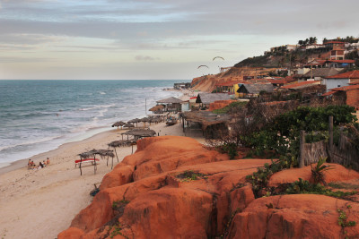Travel blog image for Dec. 21, 2013 in Canoa Quebrada, Brazil