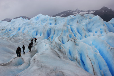 Travel blog image for March 22, 2014 in Perito Moreno Glacier, Argentina