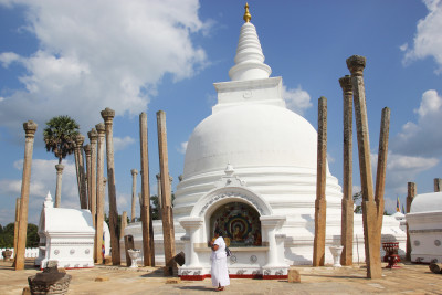 Travel blog image for Jan. 15, 2015 in Anuradhapura, Sri Lanka
