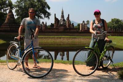 Travel blog image for Oct. 27, 2015 in Sukhothai Historical Park, Thailand