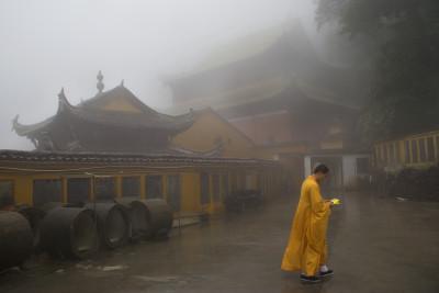 Travel blog image for May 27, 2010 in Jiuhua Shan, China