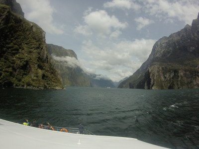 Travel blog image for Dec. 18, 2015 in Milford Sound