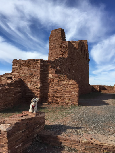 Travel blog image for March 13, 2016 in Salinas Pueblo Mission National Monument, NM