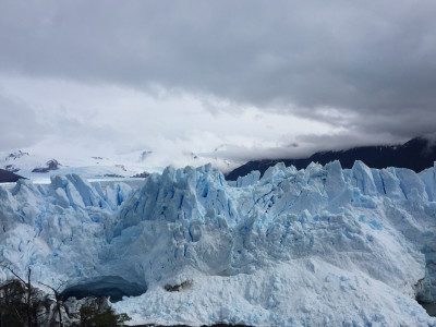 Travel blog image for Oct. 1, 2016 in Perito Moreno, Argentina