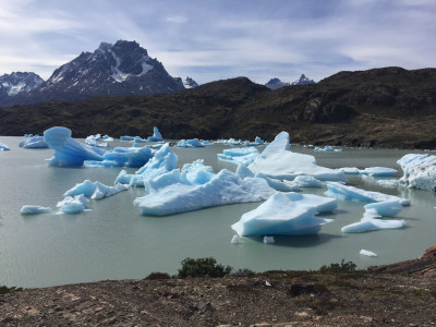Travel blog image for Oct. 6, 2016 in Torres del Paine, Chile